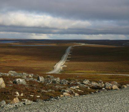Meadowbank Baker Lake estimation de coûts pour la route d'accès